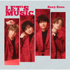 Sexy Zone / LET'S MUSIC【初回限定盤B】【CD MAXI】【+DVD】